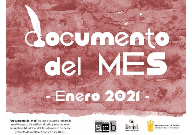 El Archivo Municipal presenta un nuevo Documento del Mes - 1, Foto 1