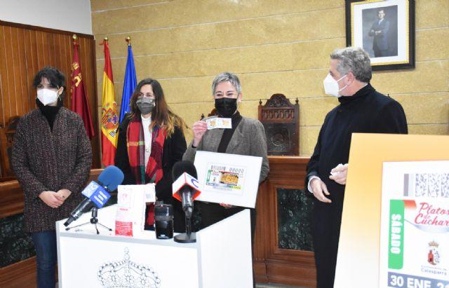 El arroz de Calasparra representa a la Región de Murcia en sus cupones del sorteo de la ONCE Platos de Cuchara - 1, Foto 1