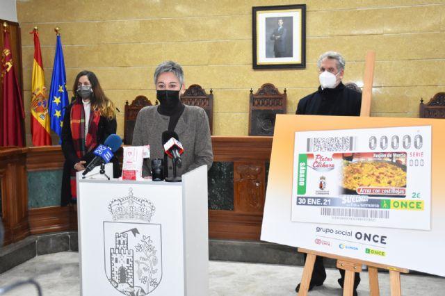 El arroz de Calasparra representa a la Región de Murcia en sus cupones del sorteo de la ONCE Platos de Cuchara - 5, Foto 5