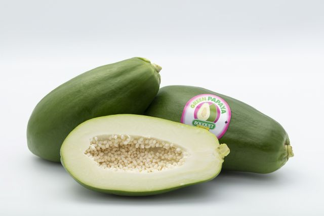 Anecoop impulsa la comercialización de papaya verde, la papaya que se consume como una hortaliza - 1, Foto 1