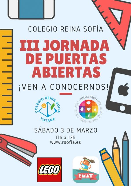The Reina Sofía school will hold its III Open House Day next Saturday, March 3