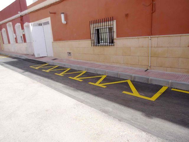 Se abren al tráfico el Callejón de la Calle Valle del Guadalentín y la vía Extremadura tras las obras de renovación de la red y acometidas de alcantarillado