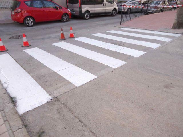 Se abren al tráfico el Callejón de la Calle Valle del Guadalentín y la vía Extremadura tras las obras de renovación de la red y acometidas de alcantarillado - 4, Foto 4
