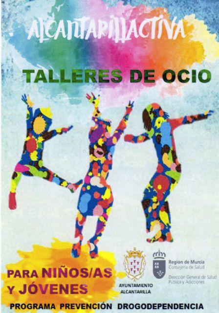 Actividades y talleres para la prevención de la drogodependencia para niños y jóvenes de Alcantarilla - 1, Foto 1