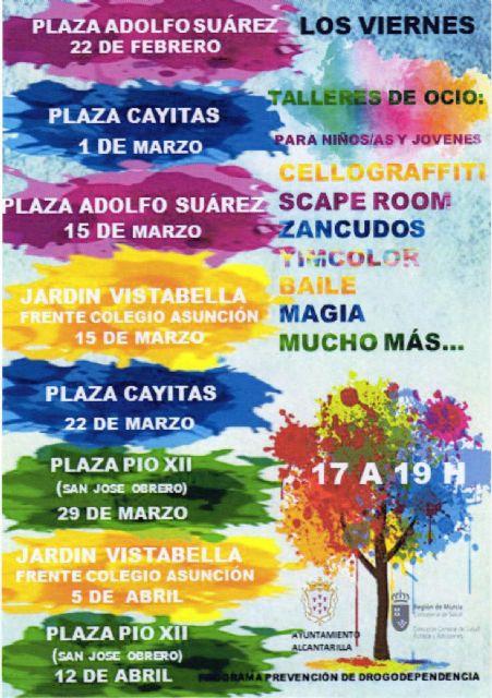 Actividades y talleres para la prevención de la drogodependencia para niños y jóvenes de Alcantarilla - 2, Foto 2