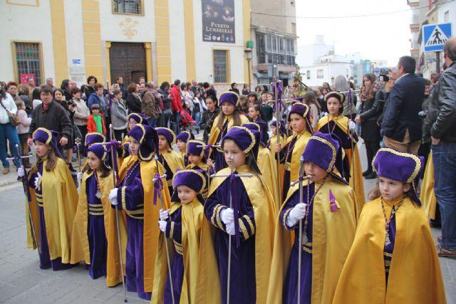 Un centenar de niños desfilan en la Procesión Infantil de Puerto Lumbreras - 2, Foto 2