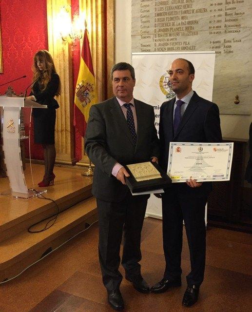 "Etosa obtains the National Prevention Award ""PREVER 2015"""