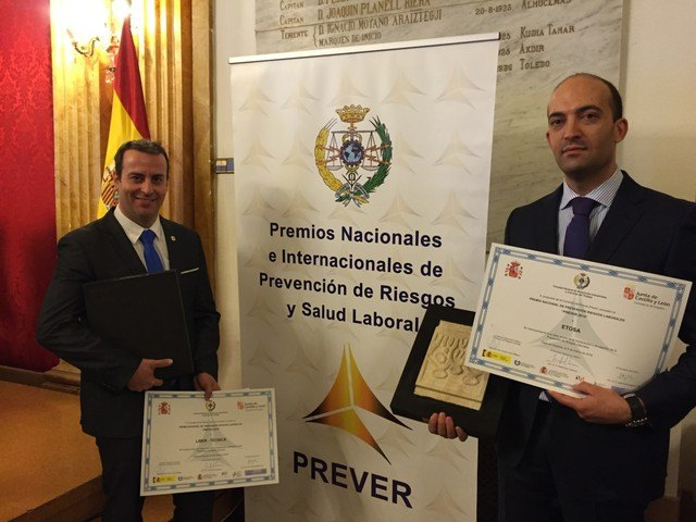 "Etosa obtains the National Prevention Award ""PREVER 2015"", Foto 2"