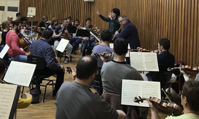 La Sinfónica de la Región y el flautista Claudi Arimany realizan la primera grabación con orquesta de una de las obras de Doppler - 1, Foto 1