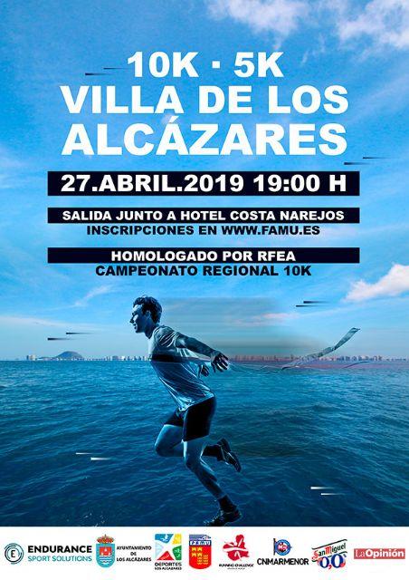 El 27 de abril, Los Alcázares acoge la RCH y decide los títulos regionales de 10K en Ruta - 1, Foto 1