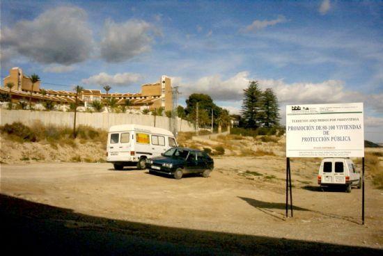 Ganar Totana propone dotar a PADISITO de un espacio en la Urbanizaci�n El Cabecico, Foto 1