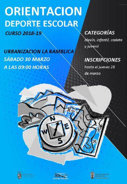 La Jornada de Orienación de Deporte Escolar tendrá lugar el 30 de marzo en la urbanización
