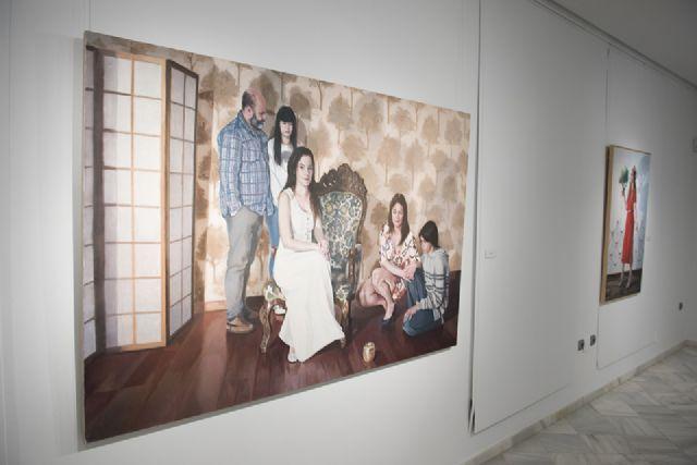 Visita guiada de Jean Carlos Puerto a su exposición en Casas Consistoriales, Foto 1