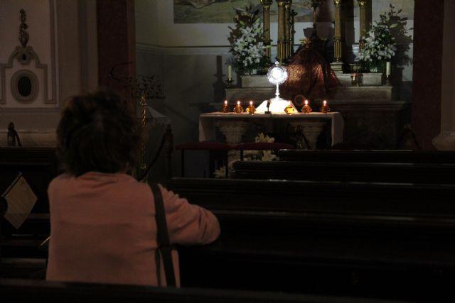 IX Aniversario de la Capilla de Adoración Perpetua del Palacio Episcopal de Murcia - 1, Foto 1