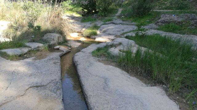 Cambiemos Murcia denuncia la desviación del cauce de la rambla del Puerto de la Cadena a huertos privados - 1, Foto 1