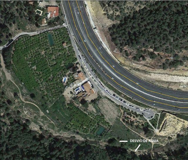 Cambiemos Murcia denuncia la desviación del cauce de la rambla del Puerto de la Cadena a huertos privados - 3, Foto 3