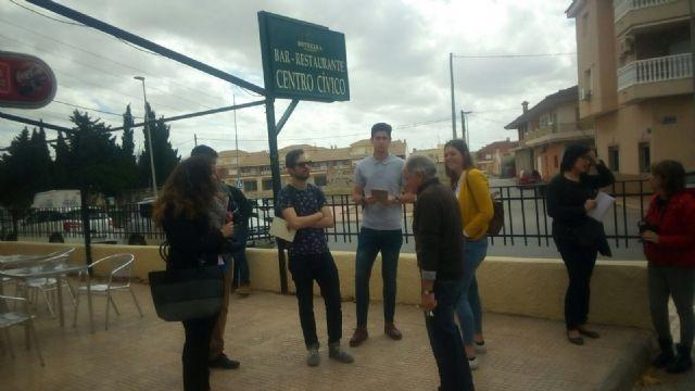 Arquitectos visitan el Centro Cívico de Roldán - 1, Foto 1