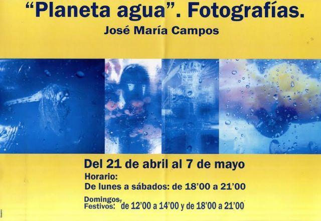 El sacerdote totanero José María Campos organiza la exposición de fotografía Planeta agua, que se inaugura hoy, Foto 1