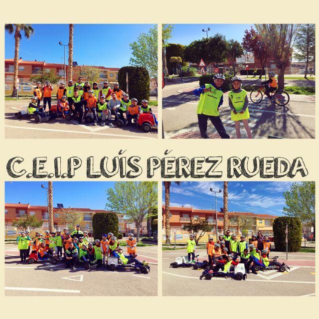 Un total de 240 escolares del CEIP Luis Pérez Rueda participa en las sesiones formativas de la Escuela de Educación Vial de la Policía Local, Foto 1