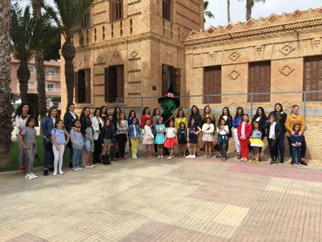 Las 35 candidatas a Reina de las fiestas de la Bruja de Alcantarilla pasan una jornada de convivencia en San Pedro del Pinatar - 2, Foto 2