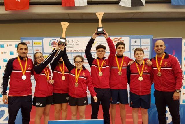 Gabriel Sánchez runner-up in the Spanish School Children's Championship