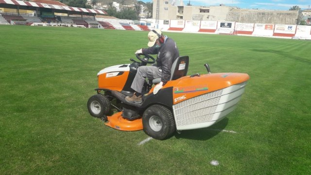 Sports carries out various maintenance and internal management works in the sports facilities of the municipality coinciding with the suspension of services
