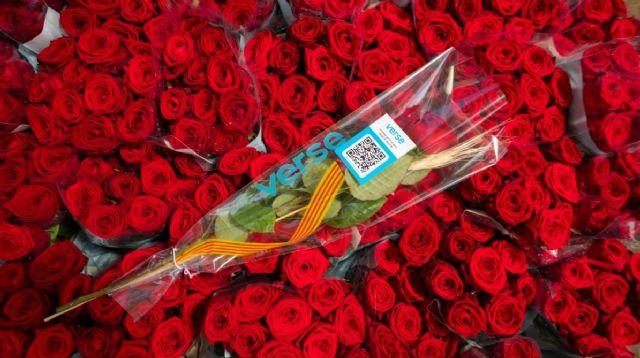 Los hospitales de Barcelona recibirán más de 37.300 rosas en Sant Jordi - 1, Foto 1
