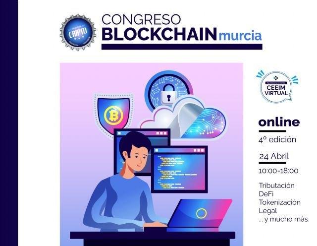 CEEIM se posiciona como centro de vigilancia tecnológica mediante el IV Congreso Blockchain Murcia - 1, Foto 1