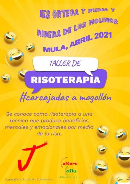 La concejalía de Juventud organiza un taller de risoterapia para los institutos de Mula - 1, Foto 1
