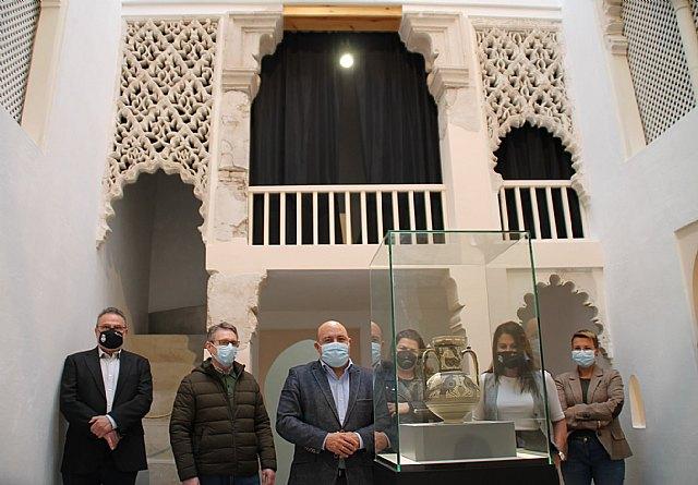 La jarra esgrafiada y el pórtico almohade de la casa nº10, vestigios estrella del pasado árabe de Cieza - 1, Foto 1