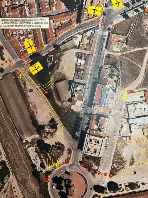 Nueva redistribución del tráfico con motivo de la última fase de las obras de avenida de la Asunción - 1, Foto 1