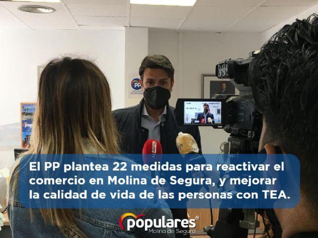 El PP plantea 22 medidas para reactivar el comercio en Molina de Segura, y mejorar la calidad de vida de las personas con TEA - 1, Foto 1