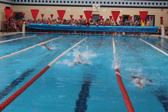 Campeonato de Natación Infantil en el Centro Deportivo de Puerto Lumbreras - 1, Foto 1