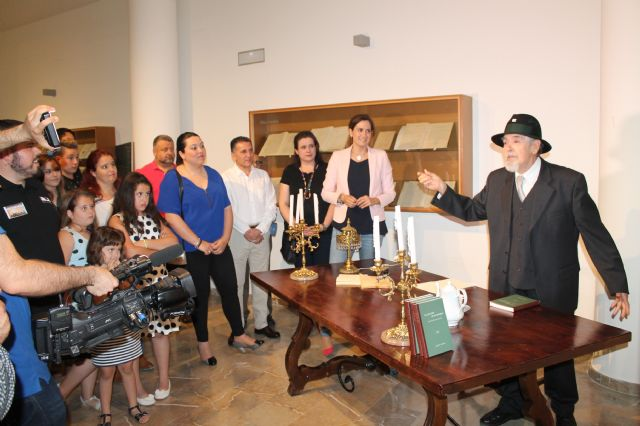 Archena también se sumó a la Noche Internacional de los Museos con la visita de cientos de personas a los tres existentes - 1, Foto 1