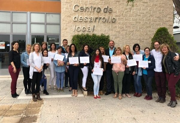 Autoridades municipales dan por finalizado el Programa Mixto de Empleo y Formación de Atención Sociosanitaria a Personas Dependientes en Instituciones Sociales