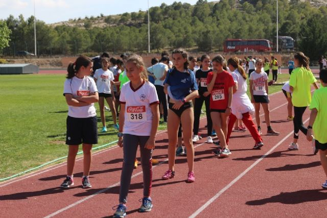 Reina Sofía School participated in the Regional End of School Sports Athletics