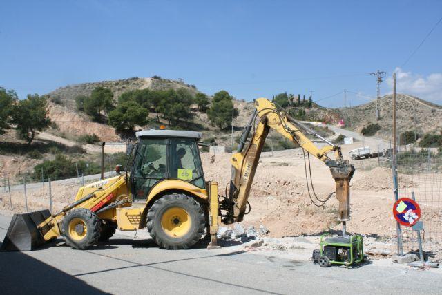 Las obras del nuevo parque del barrio de San José, enmarcadas en el POS 2017, comenzaron la pasada semana