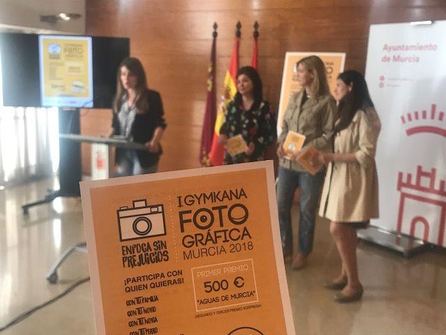 Llega la 'I Gymkana Fotográfica Solidaria Ciudad de Murcia 2018: Enfoca Sin Prejuicios' el próximo sábado - 1, Foto 1
