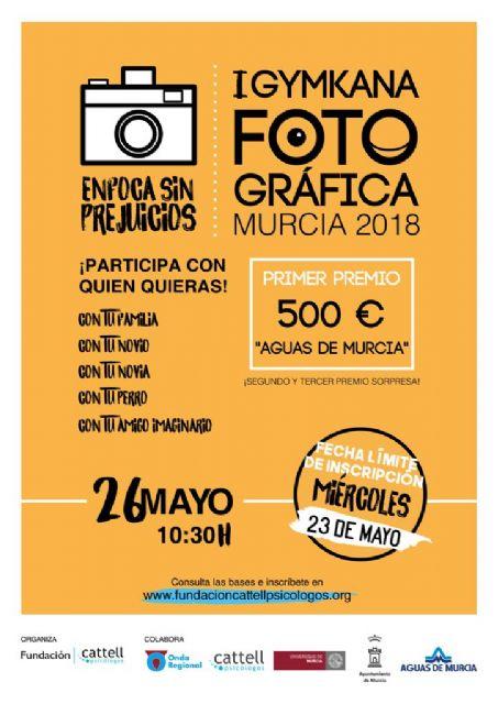 Llega la 'I Gymkana Fotográfica Solidaria Ciudad de Murcia 2018: Enfoca Sin Prejuicios' el próximo sábado - 2, Foto 2
