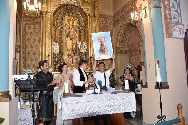 Los festeros de Moros y Cristianos de Archena volvieron a solicitarle la bandera a la Patrona la Virgen de la Salud, en el acto de la Arrancá - 2, Foto 2