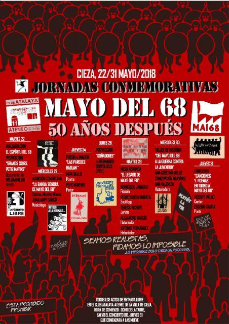 Jornadas conmemorativas mayo del 68 en el Club Atalaya-Ateneo de la Villa de Cieza - 1, Foto 1