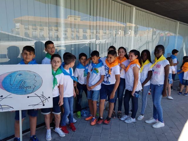 Cerca de 200 alumnos de Primaria participan en un encuentro de danzas - 4, Foto 4