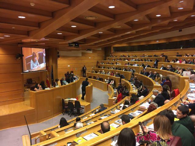 Irene Martínez recoge su premio en el Senado - 2, Foto 2