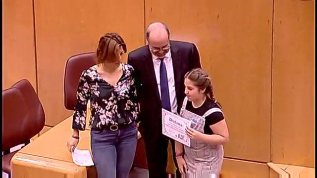 Irene Martínez recoge su premio en el Senado - 3, Foto 3
