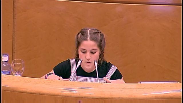 Irene Martínez recoge su premio en el Senado - 4, Foto 4