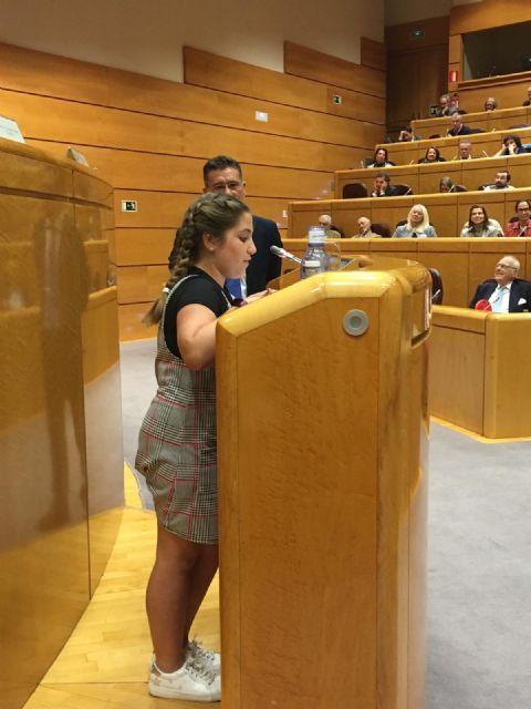 Irene Martínez recoge su premio en el Senado - 5, Foto 5