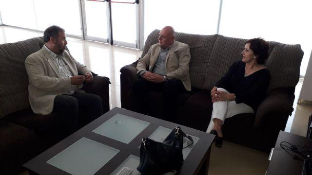 Francisco Miguel Muñoz visita el centro de discapacitados psiquicos en Cabezo de Torres - 1, Foto 1