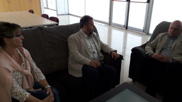 Francisco Miguel Muñoz visita el centro de discapacitados psiquicos en Cabezo de Torres - 2, Foto 2