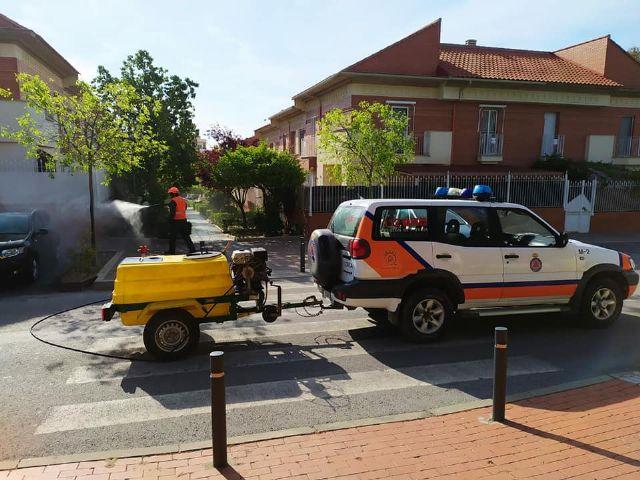 El Servicio de Emergencias y Protección Civil adapta sus recursos para maximizar el apoyo en la lucha contra el coronavirus en Lorca - 1, Foto 1
