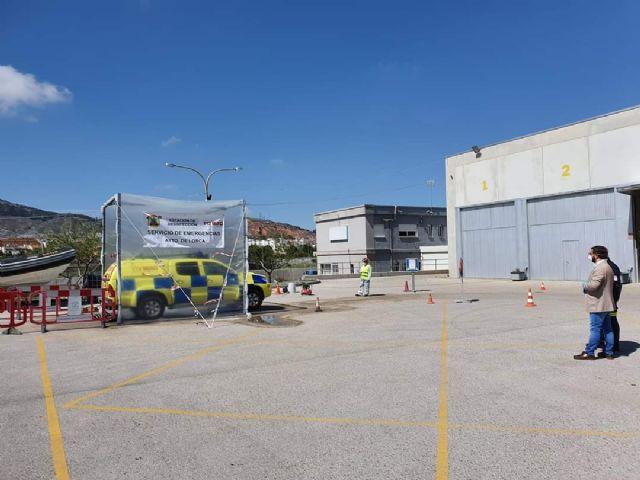El Servicio de Emergencias y Protección Civil adapta sus recursos para maximizar el apoyo en la lucha contra el coronavirus en Lorca - 2, Foto 2